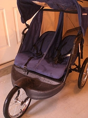 double baby stroller